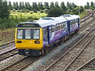 DELAY A Northern Rail train