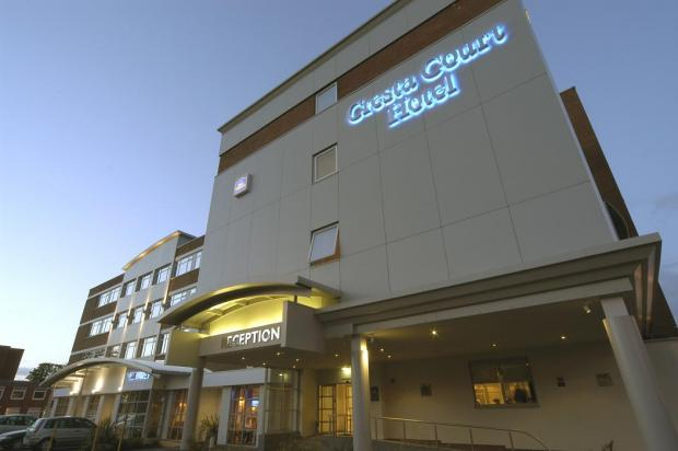 Win a stay at The Best Western Cresta Court Hotel