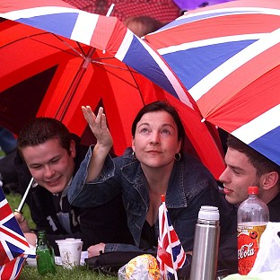 Wet weather may be in store for Jubilee revellers