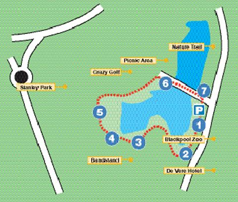 The Stanley Park route