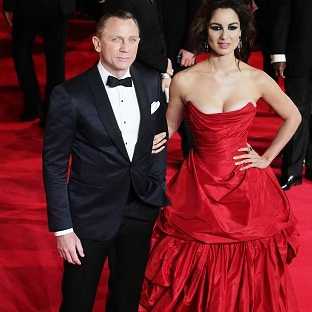Preston and Leyland Citizen: Berenice Marlohe said Daniel Craig was 'shy' about stripping off for their shower scene