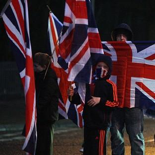 Preston and Leyland Citizen: Loyalists block roads in north Belfast as the ongoing flag dispute continues
