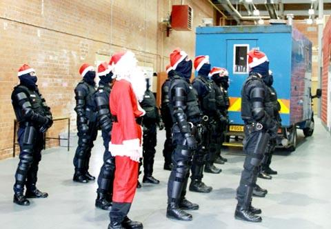 VIDEO: Lancashire Police have fun in Christmas anti-crime video