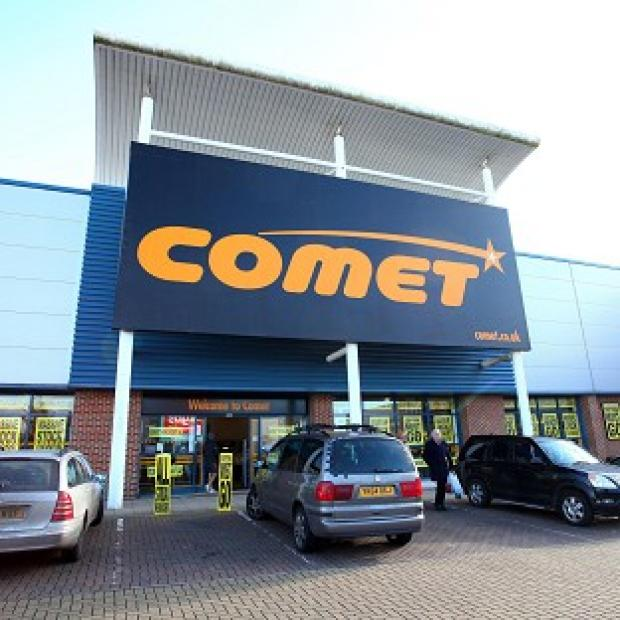 The last 50 Comet stores are to close for the final time on Tuesday