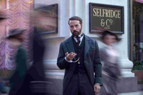 Jeremy Piven stars in Mr Selfridge on ITV1