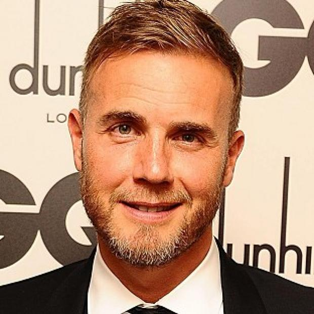 Preston and Leyland Citizen: Romatic Gary Barlow serenaded the happy couple on stage