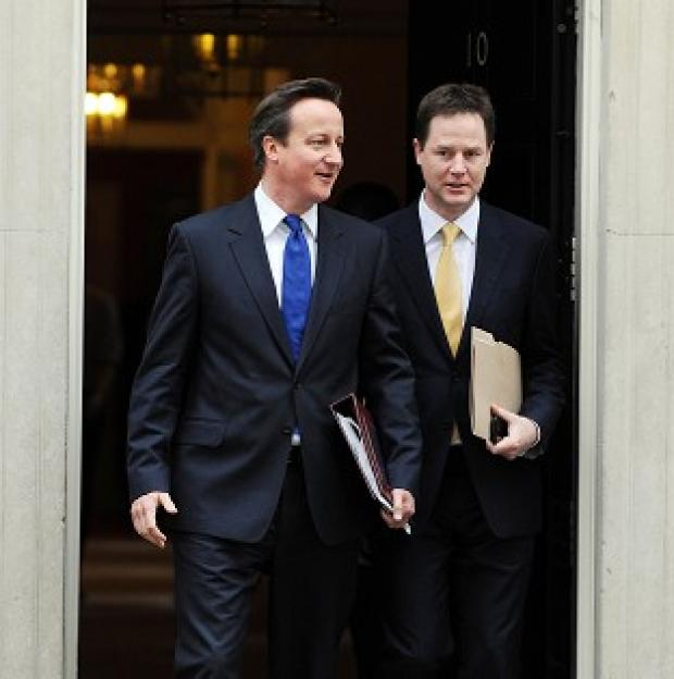 David Cameron and Nick Clegg were split over plans to redraw parliamentary boundaries