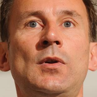 Jeremy Hunt wants to do away with 'cumbersome' red tape in the NHS
