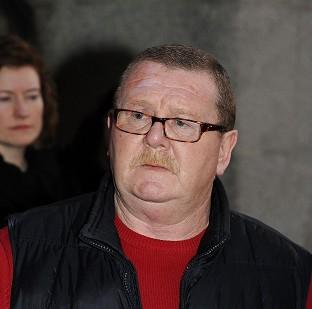 Anthony McCluskie said he has blocked his son's calls from prison