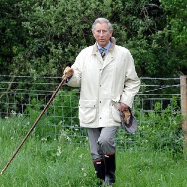 Prince Charles said walking 'is a terribly important thing for me'