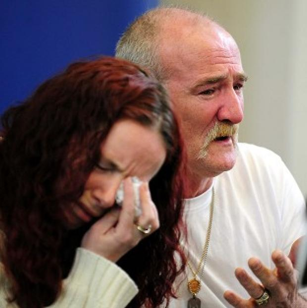 Mick Philpott, pictured with wife Mairead, said he was not involved in the fire which killed his children but had suspicions about who started the blaze
