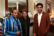 Deepak Kuntawala, Al Pacino and Bollywood star Abhishek Bachan