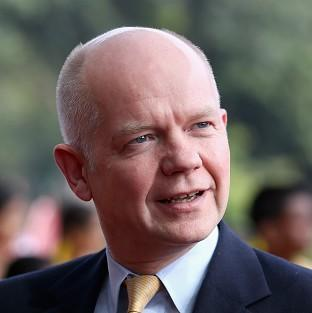 William Hague was challenged on 'very disturbing' exports o