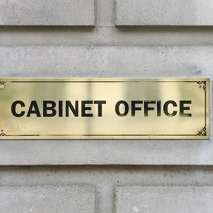 The Cabinet Office will be monitored over concerns a