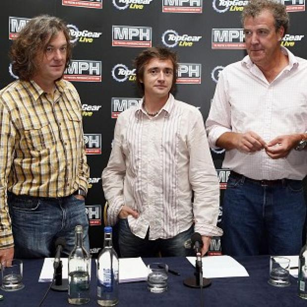Preston and Leyland Citizen: Top Gear presenters (left-right) James May, Richard Hammond and Jeremy Clarkson