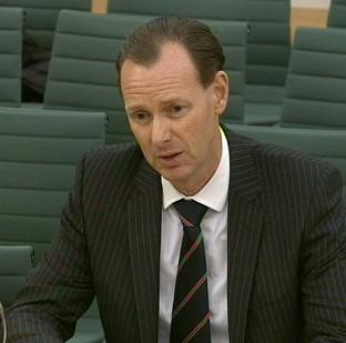 Preston and Leyland Citizen: Lawrence Tomlinson gives evidence in front of the Treasury Select Committee