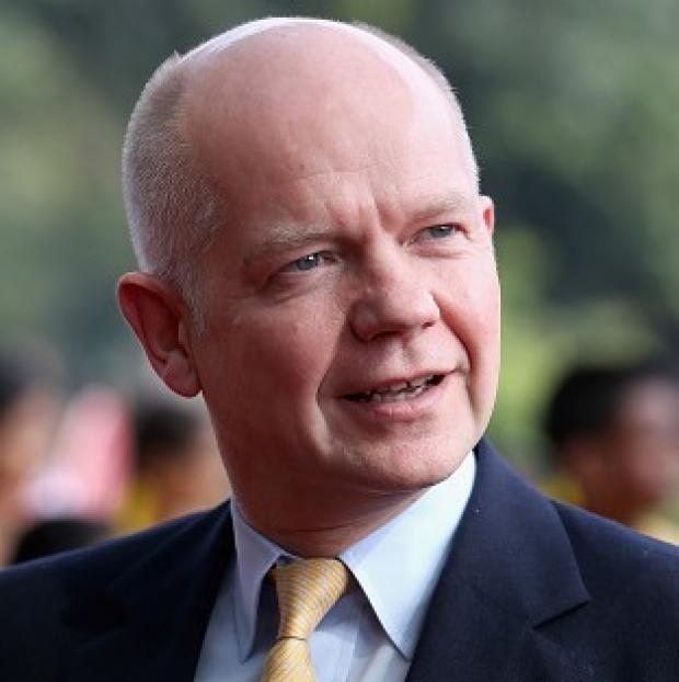 Preston and Leyland Citizen: William Hague said there was a 'compelling' case for a fresh UN security council look at the humanitarian issue in Syria after the 'barrel bomb' attack on Aleppo