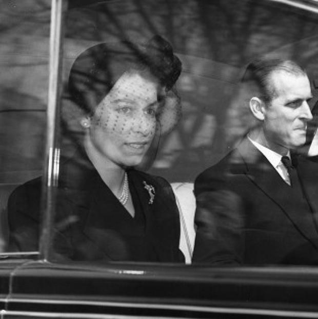 Preston and Leyland Citizen: The Queen and the Duke of Edinburgh on their way to Westminster Abbey for her first public engagement as monarch.