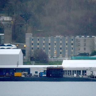 Preston and Leyland Citizen: The Faslane base on the Clyde, where workers are to stage a strike