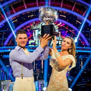 Preston and Leyland Citizen: Abbey Clancy with her dance partner Aljaz Skorjanec after they were crowned Strictly Come Dancing champions.