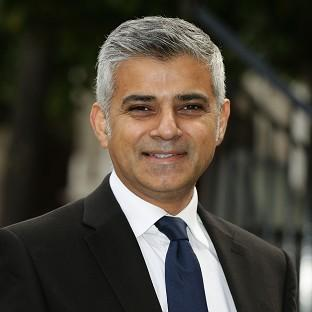 Secretary of State for Justice Sadiq Khan is among politician