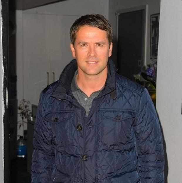 Preston and Leyland Citizen: Michael Owen arriving at Sarm Studios for filming of the video.