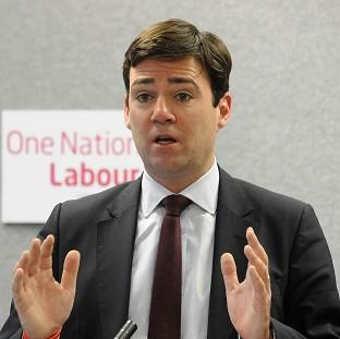 Labour's shadow health secretary Andy Burnham said c