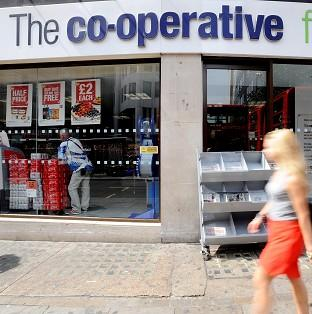 The Co-operative Group has accepted the resignation of chief executive Euan Sutherland