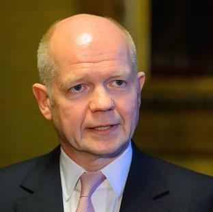 Preston and Leyland Citizen: William Hague says the UK is 'continuing to do everything we can' to bring the crisis in Syria to an end