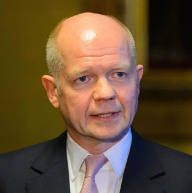 Preston and Leyland Citizen: William Hague says EU foreign ministers should press ahead with sanctions against Moscow