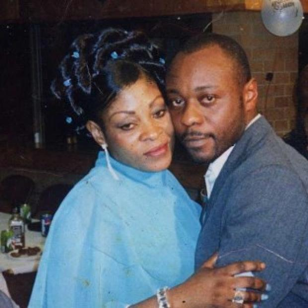 Preston and Leyland Citizen: Jimmy Mubenga, pictured with his wife Adrienne Makenda Kambana, died while being restrained on a flight back to his native Angola