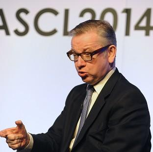 Preston and Leyland Citizen: Education Secretary Michael Gove answers questions during the ASCL Annual Conference