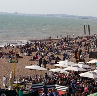 Preston and Leyland Citizen: Brighton and other parts of southern Britain are set to enjoy sunny weather next week