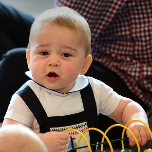 Preston and Leyland Citizen: Prince George has received a series of matrimonial offers while in New Zealand, his father has joked