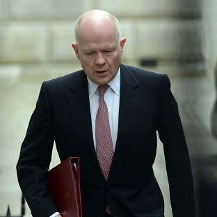 William Hague has warned Russia it faces consequences if it continues to destabilise Ukraine.