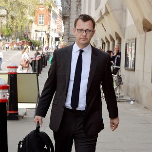 Andy Coulson denied knowing that Milly Dowler's phone was hacked.