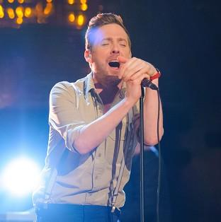 Ricky Wilson is waiting to hear about his future on The Voice