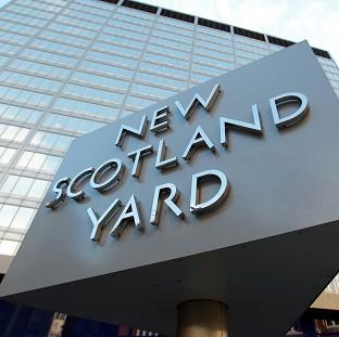 Preston and Leyland Citizen: Scotland Yard said the police car was on its way to an incident when the collision with the pedestrian happened