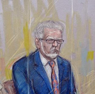 Preston and Leyland Citizen: Court artist sketch by Elizabeth Cook of Rolf Harris who appeared at Southwark Crown Court where he pleaded not guilty to 12 charges dating back to the late 1960s