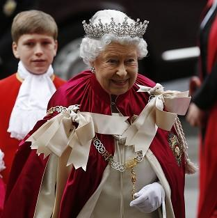 Preston and Leyland Citizen: The Queen arrives for the Order of the Bath Service at Westminster Abbey.