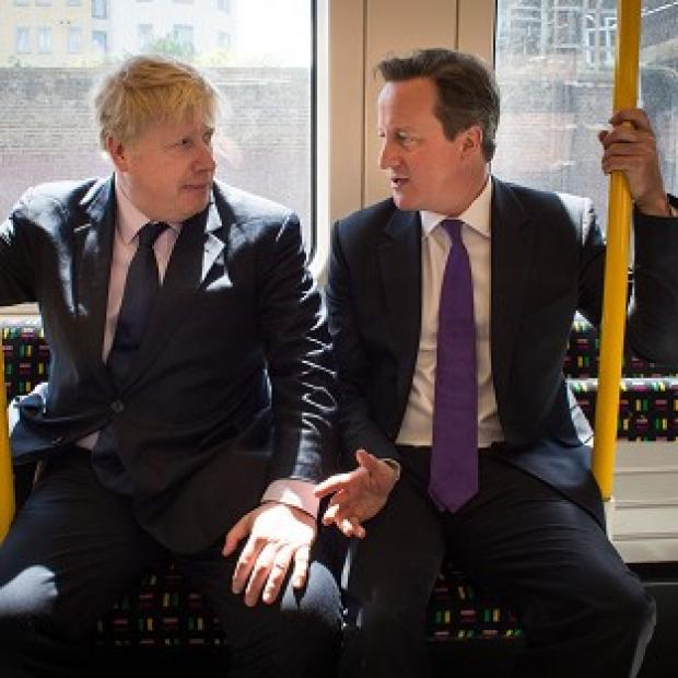 Preston and Leyland Citizen: Mayor of London Boris Johnson and Prime Minister David Cameron on the campaign trail