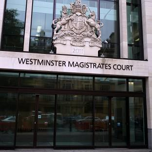A judge at Westminster Magistrates' Court has spared a specialist police officer