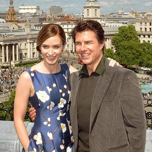 Preston and Leyland Citizen: Emily Blunt and Tom Cruise star in Edge Of Tomorrow.