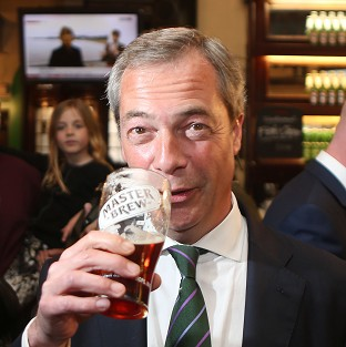 Ukip leader Nigel Farage's party could enjoy more support at next year's general election, a new poll suggests