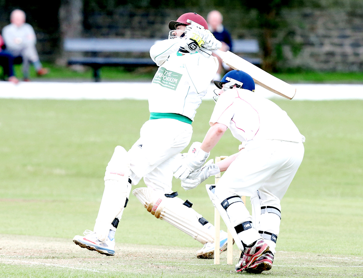 Janake Gunaratne hits out for Clitheroe on Sunday