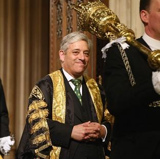 John Bercow, the Speaker of the House of Commons.