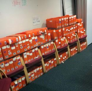 Preston and Leyland Citizen: Boxes of passport applications which have piled up in an office in Liverpool
