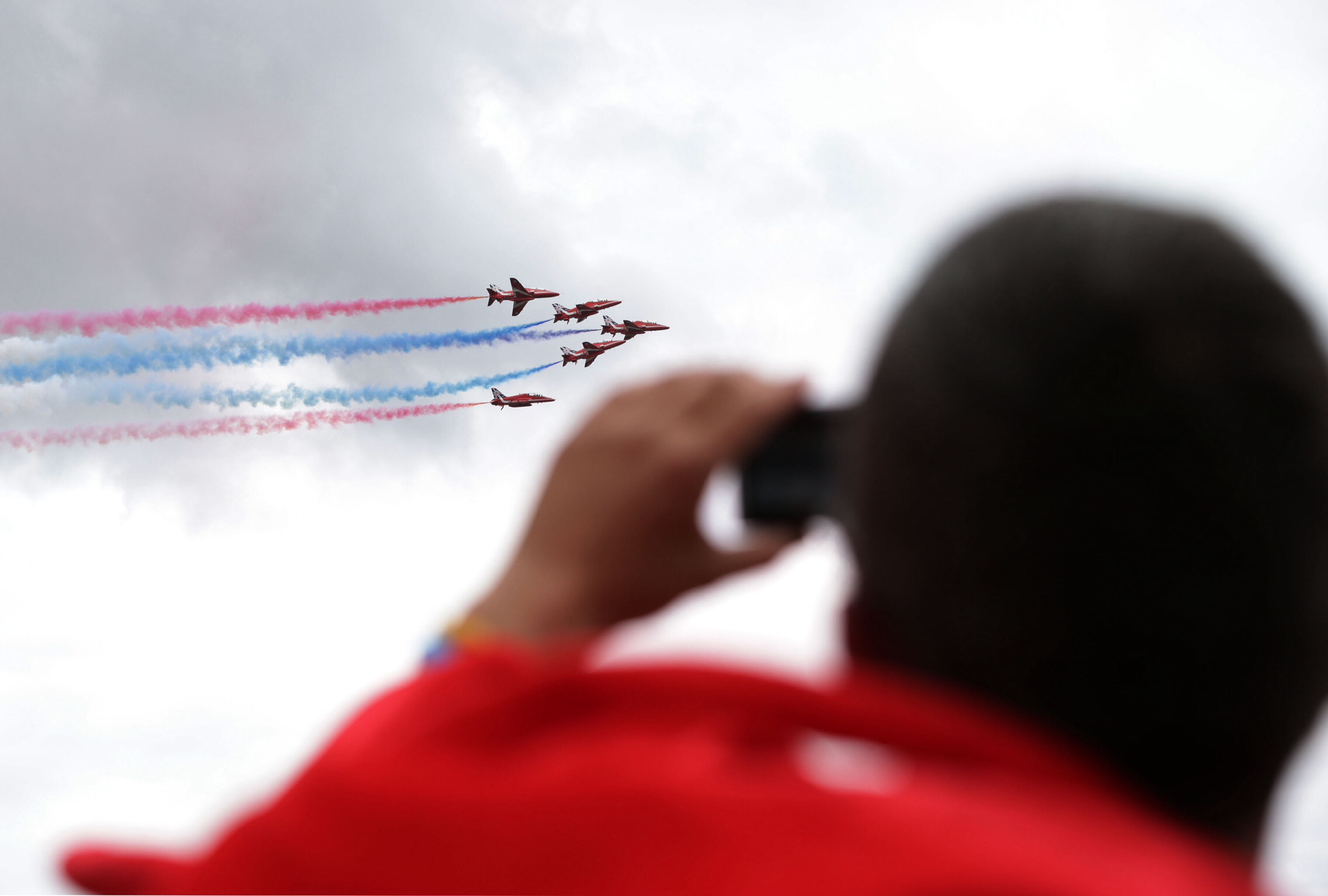 Red Arrows hail Lancashire engineering