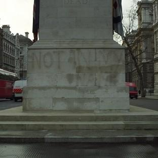 The Cenotaph in Whiteh