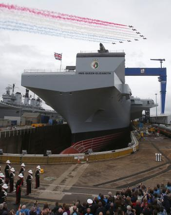 BAE 'flight cockpit' helps to design aircraft carrier